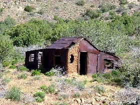 A number of treasures are said to be found in old mining camps.