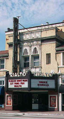 Realto Theatre, South Pasadena, Calfornia