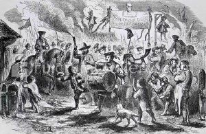 Stamp Act Riots in Boston