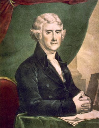 Thomas Jefferson by Henry R. Robinson