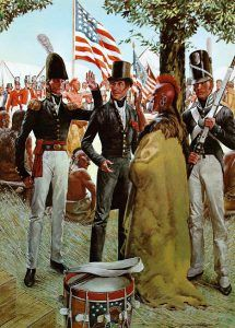 Soldiers in the War of 1812