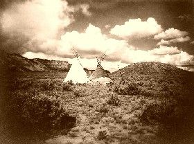 Apache Teepees in Arizona