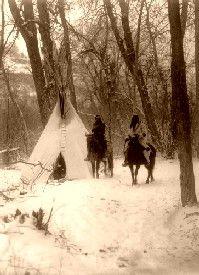Apsaroke Winter Camp