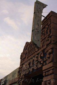 The Aztec Hotel in Monrovia, California by Jim Hinkcley