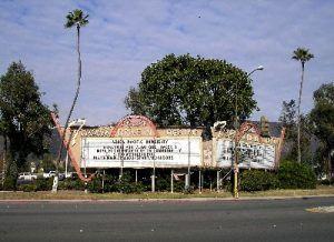 Azusa, California Drive-In Theater