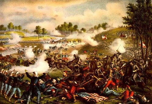 Battle of Bull's Run (Manassas), Virginia, July 21, 1861