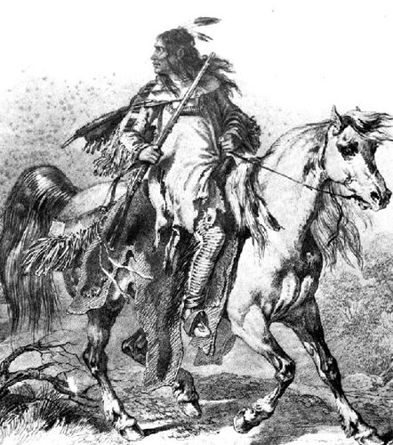john colter s escape from the indians legends of america