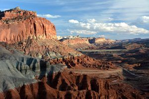 Waterpocket Fold, Capitol Reef, Utah