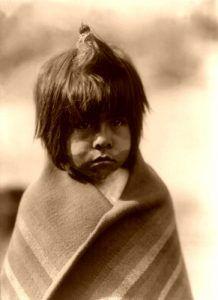 Chemehuevi boy, Edward S. Curtis, 1907