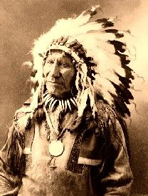 Chief American Horse, 1900