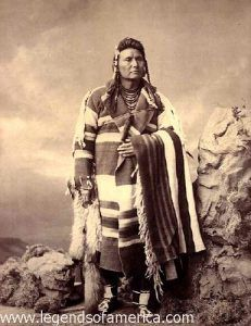Chief Joseph of the Nez Perce tirbe