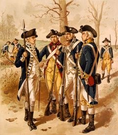 Continental Army by Henry Ogden