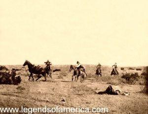 Cowboy Thrown, 1906