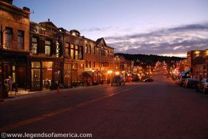 Cripple Creek at Night