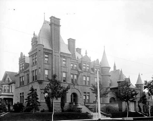 Croke-Patterson Mansion in Denver, Colorado, 1892
