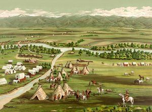 Denver, Colorado in 1859