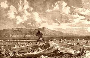 Denver and Auraria City, 1860