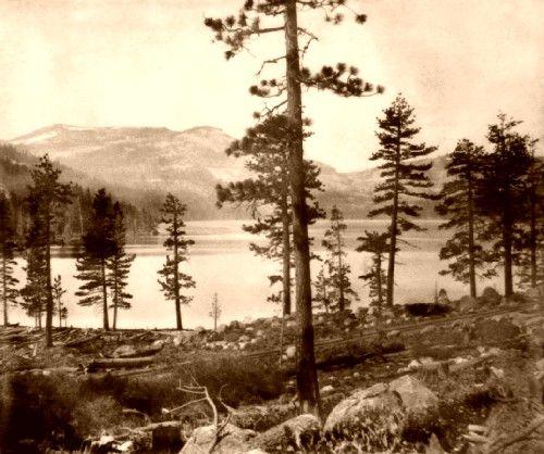 Donner Lake 1866