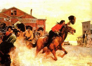 Image result for the beginning of the pony express