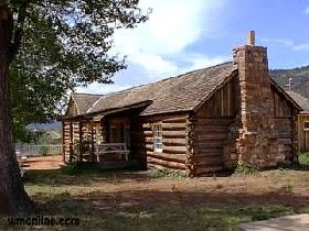 Old Commanding officer quarters at Fort Apache today, courtesy  White Mountains Online