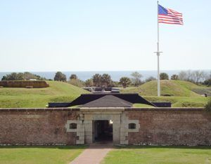 Fort Moultrie, South Carolina by the National Park Service