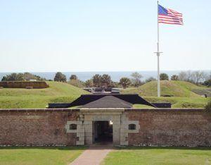 Fort Moutrie, South Carolina