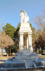 Fort Parker, Texas Cemetery Monument
