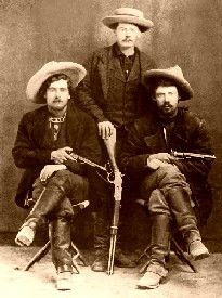 Gunfighters in the 1870's