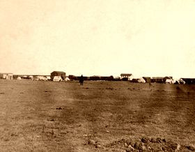 Hays City, Kansas, 1867, by Alexander Gardner