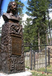 Bill Hickok Grave in Deadwood, South Dakota