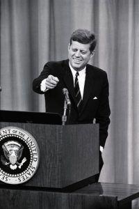 John Kennedy Press Conference