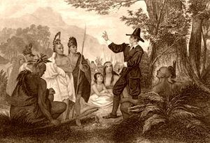 John Elliot Preaching to the Indians