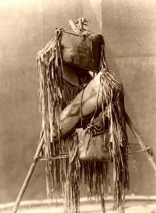 Native American Medicine bags, Edward S. Curtis, 1910.