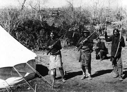 Mescalero Warriors, 1898