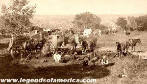 Cowboys at a Mess Scene, 1887