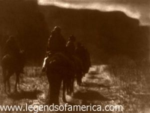 Navajo - The Vanishing Race, by Edward S. Curtis