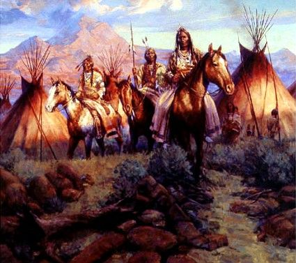 Northern Cheyenne Painting