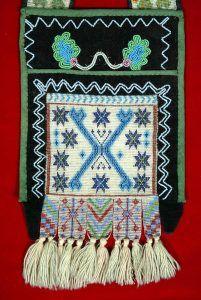 Ojibwa Bandolier Bag