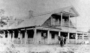 Peter Maxwell's house at Fort Sumner, New Mexico.
