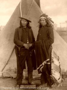 Sioux Chiefs Red Cloud and American Horse, John C.H. Grabill, 1891.