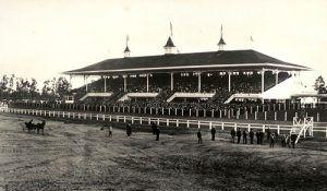 Santa Anita Racetrack, Arcadia, California, 1908