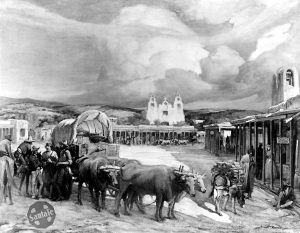 The End of the Santa Fe Trail by Gerald Cassidy, about 1910