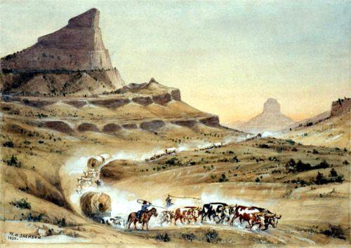 Scott's Bluff, Nebraska by Henry Jackson