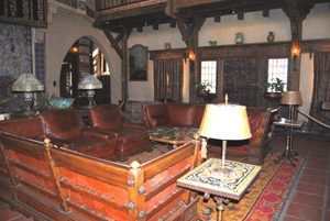 Great Room at Scotty's Castle, Death Valley, California