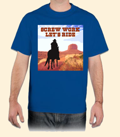 Cowboy T-Shirt available at Legends' General Store