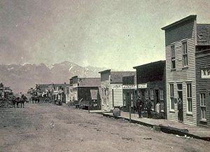 Silver Cliff, Colorado in 1882