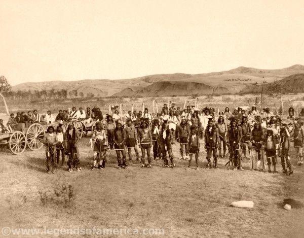 Sioux Dance, by John Graybill, 1890