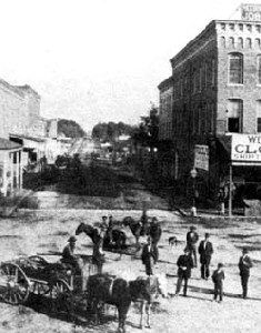 Springfield, Missouri in the 1870s