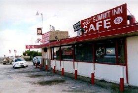 The historic Cajon Summit Inn, Cajon Pass, California