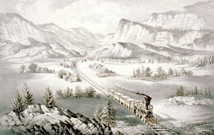 The Great West by Currier & Ives